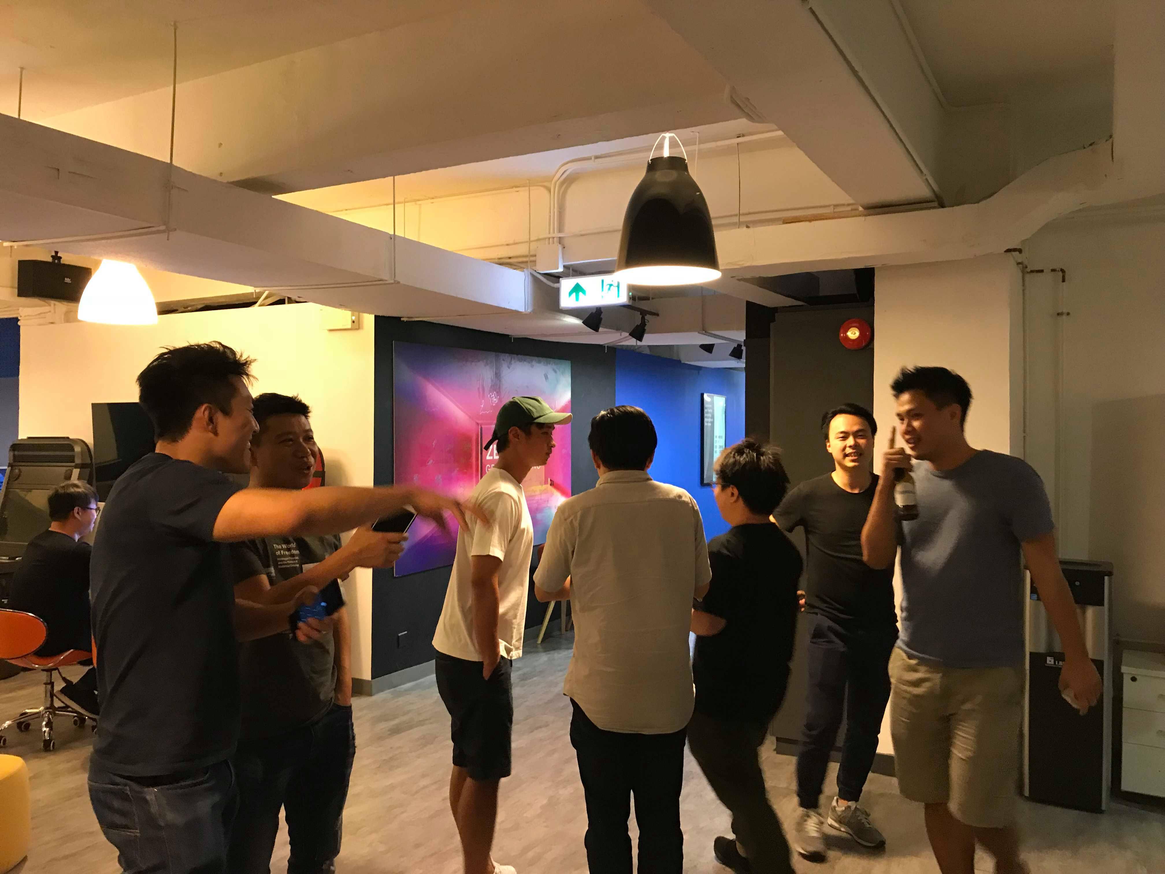 startup drinks, networking, zerozone